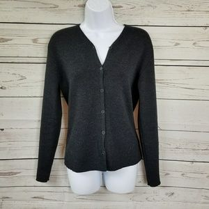 J CREW wool blend button up cardigan